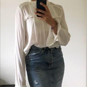 Romantic style blouse